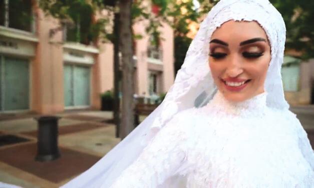 Beautiful Beirut Bride Safe After Blast Interrupts Her Wedding Day
